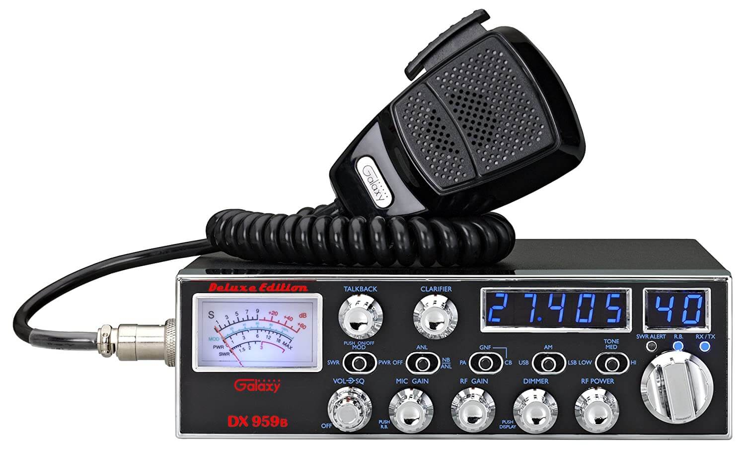 Galaxy-DX-959 40 Channel AM SSB Mobile CB Radio with: Amazon.in: Electronics